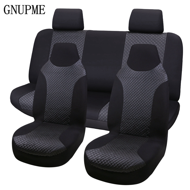 5pcs/ Set Car Seat Covers Interior Accessories Breathable Car Seat Cover Pad Fit Most Auto Decoration Protector Car Seat Cover car seat