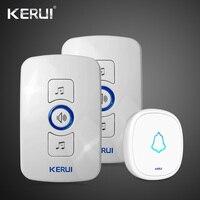 Waterproof KERUI32 Songs Touch Button Welcome Door Bell Smart Home Alarm Intelligent Wireless Doorbell For Home