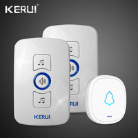 Waterproof KERUI32 Songs Touch Button Welcome Door Bell Smart Home Alarm Intelligent Wireless Doorbell For Home