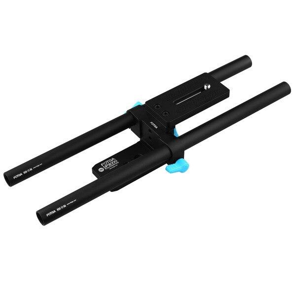 FOTGA DP3000 DSLR rail 15mm 30cm rod support system rig f follow focus matte box fotga dp3000 top handle c cage bracket support rig for 15mm dslr rod follow focus