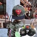 Камуфляж Boy Девушка Скейт Snapback ДГК Cap бейсбол hat Cayler Yeezy нью-Йорк Super man Молитва Танец Сломать Детей супермен хип-хоп