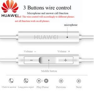 Image 3 - HUAWEI słuchawki CM33 USB type c w ucho przewodowy mikrofon regulacja głośności zestaw słuchawkowy dla huawei Mate 10 Pro P20 Por P30 Pro