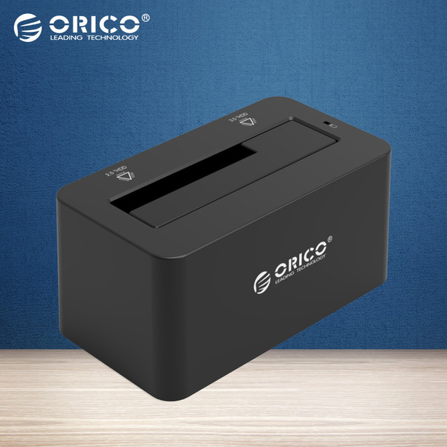 ORICO 6619C3 6Gbps Super Speed USB3.0 to Type-C 2.5''/3.5'' Tool Free SATA HDD & SSD Docking Station External Storage Enclosure