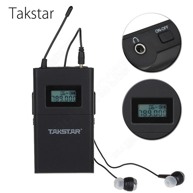 Free Shipping!Original TAKSTAR WPM-200 single receiving (including earphone) Professional Wireless Monitor System receiver