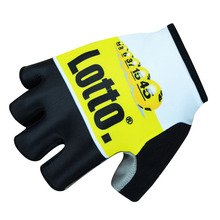 Lotto Pro Team Half Finger Cycling Gloves Mountain Bike Sports Gloves/Breathable Racing MTB Bicycle Cycle Ciclismo K0403
