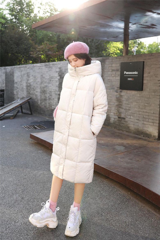 Jacket female large coat S long paragraph warm Parker hooded shirt Slim maternity winter jackets free shipping men s jacket winter slim thickened hooded jacket men s fashion slim thickened coat wn 110