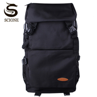 Scione Waterproof Travel Backpack Large Capacity Men Women Backpacks Laptop Computer Mochila Rucksack Unisex Nylon School