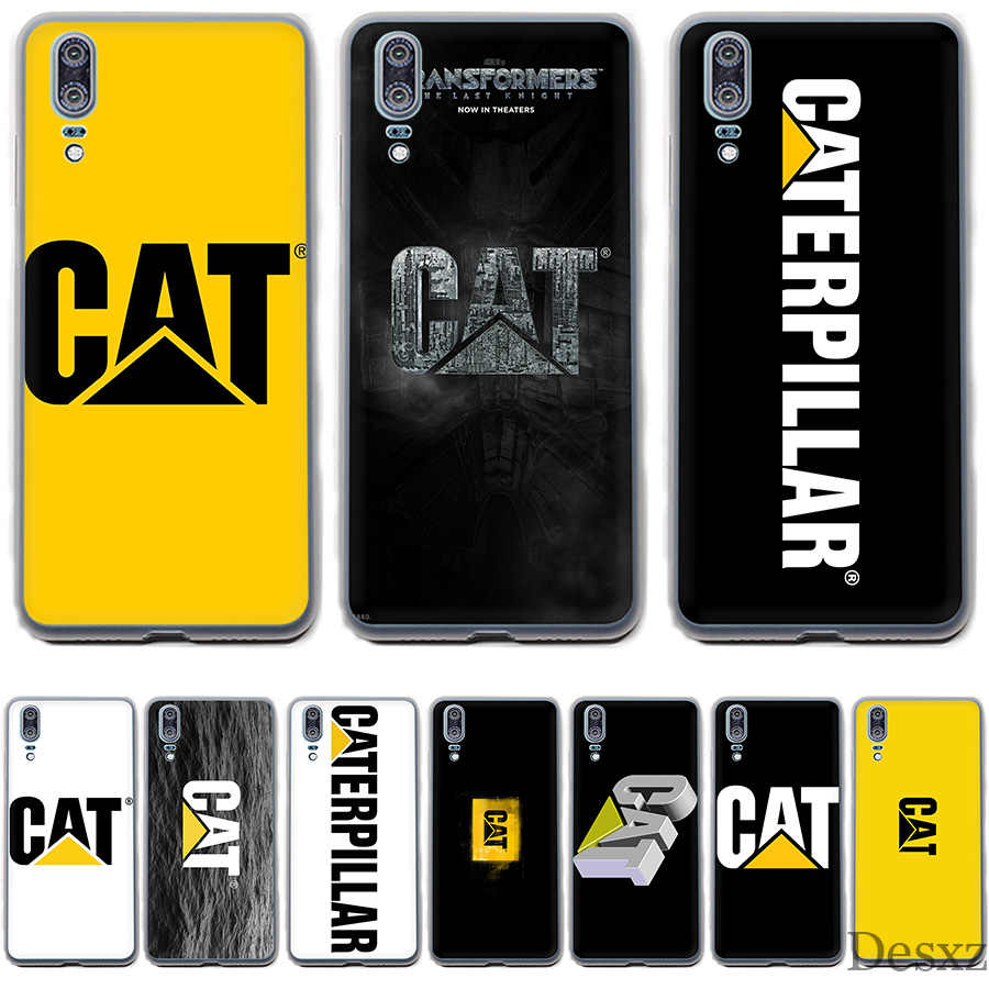 Phone Case Cover Caterpillar Logo Cute For Huawei P Smart P8 P9 P10 P20 Lite Pro P20pro 2015 2016 2017 Cover