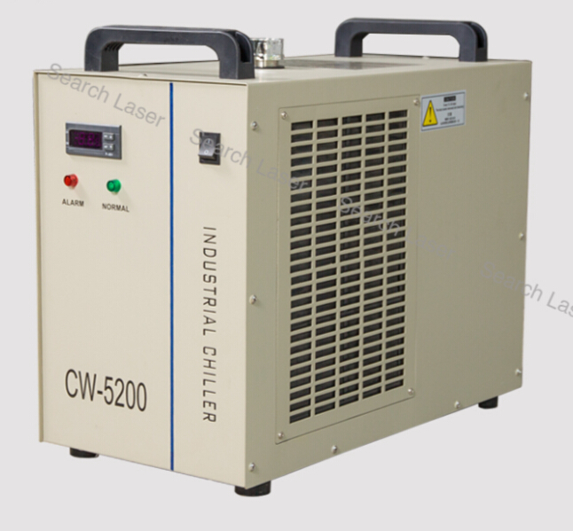 AC220V water chiller CW5200 for laser tube,spindles hot sell industrial water chiller cnc laser engraver cutting cw5200 pump