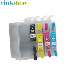 Einkshop for epson T2711 27xl Refillable Ink Cartridge WF7110 WF7610 WF7620 WF-3620 WF3640 WF-7710 wf-7715 wf-7210