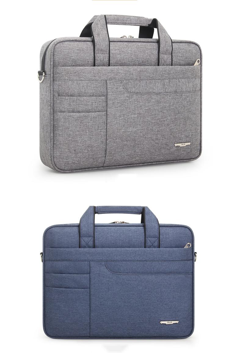 HTB1kodXbBiE3KVjSZFMq6zQhVXam Brand Waterproof Men Women 14 15.6 inch Laptop Briefcase Business Handbag for Men Large Capacity Messenger Shoulder Bag
