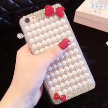 Perłowe etui do Samsunga