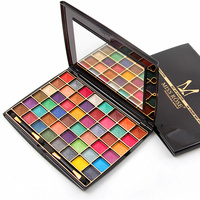 Miss Rose Brand 48 Color Professional Eyeshadow Palette for Women Natural Long lasting Cosmetic Set Beauty Eye Shadow Makeup Kit