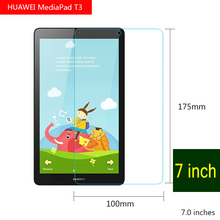 Tablet Screen Protectors For Huawei MediaPad T3 10 inch Tempered Glass Ultra Thin Scratch Proof For Huawei Media Pad T3 7″ 8″ 10