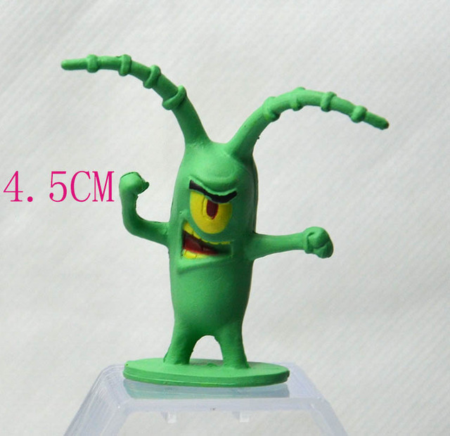 Coleo-8-Bonecos-miniaturas-do-Bob-Esponja-8cm-pvc-4