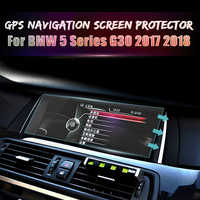 Car GPS Navigation Screen Steel Protector Film Tempered Glass Interior Accessories for BMW 5 Series G30 2017 2018