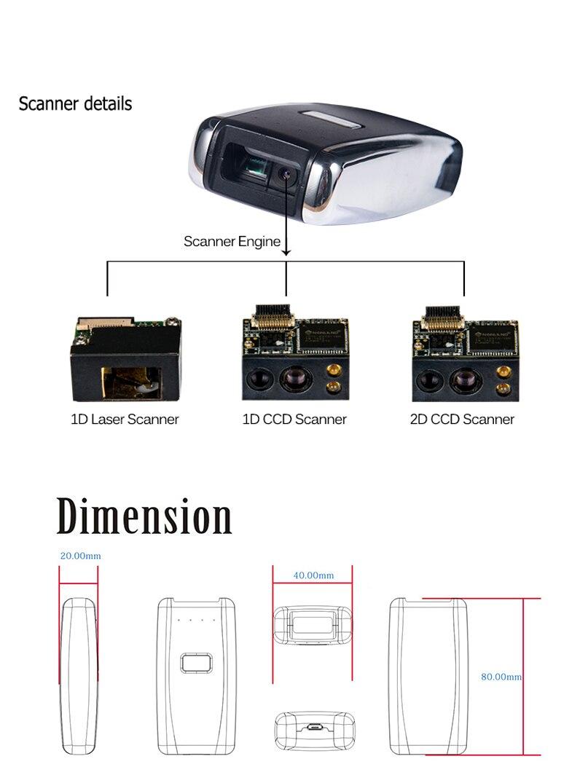 Laser Portátil de bolso Sem Fio Bluetooth
