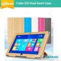 """Высокое качество Бесплатная доставка в исходном кожаный чехол для 10.6 """"куб i10 Tablet PC, Cube i10 случае, Куб i10 двойной загрузки tablet pc Крышкой"""