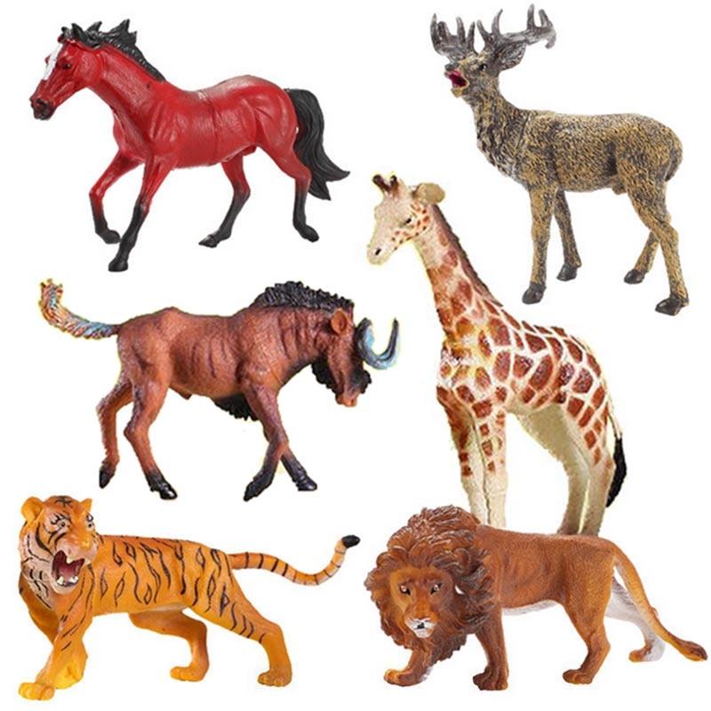Aliexpress.com : Buy Action Figures Animal Model Toys Set