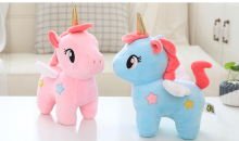 Fluffy Unicorn Plush