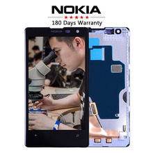Original 4.5″ For NOKIA Lumia 1020 LCD Touch Screen with Frame For NOKIA Lumia 1020 Display Digitizer Assembly Replacement Parts