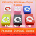 Hot Sell 20pcs/lot High Quality Mini C Key MP3 Music Player Gift MP3 Player Support Micro SD/TF Card 6 Colors Free Shipping