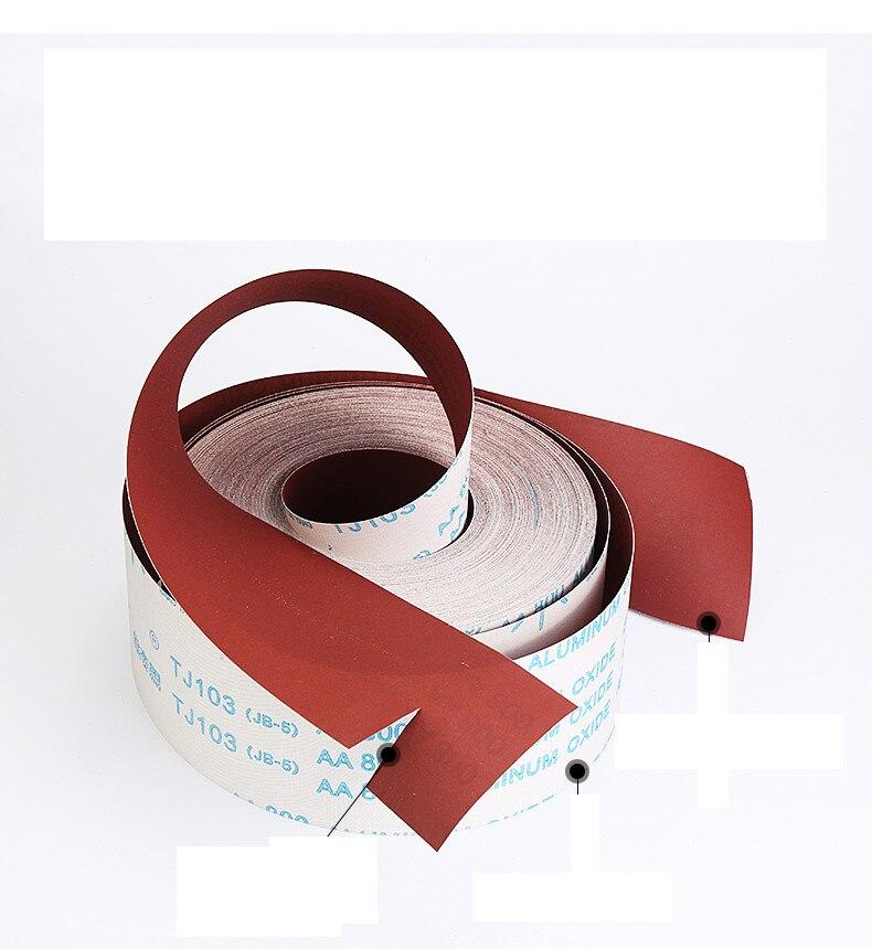 Abrasive Belt 3m/lot Wood Root Carving Furniture Polish Burnish, Sand Paper Hand Tore Emery Cloth Roll Metal Soft Sand