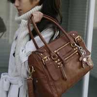 women's Handbag Vintage Belt Bear Casual Tote Female Shoulder Bag Messenger Bag Casual Bag