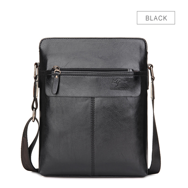 Brand Men Bag Split Leather Business Casual Male Crossbody Shoulder Messenger Fashion Designer Travel Sacoche Homme