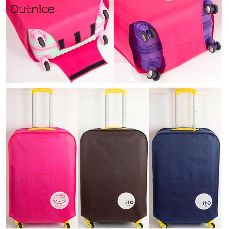 20/22/24/26/28/29/30 inch luggage suitcase protective cover Dust-proof Water-proof travel accessories все цены