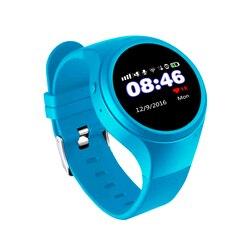 T88 Bluetooth enfants Smartwatch téléphone intelligent bébé montre écran rond MTK2503 2G montre-bracelet intelligente SOS WiFi GPS avec podomètre SIM