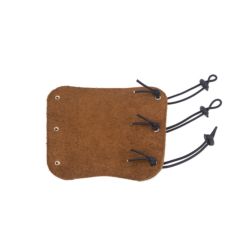 Cow Leather Arm Protector Recurve Bow Universal Cowhide Arm Guard Pull Protect