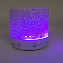 LED Light Bluetooth Speakers Wireless Hands Free Portable Mini Speaker Support TF USB FM 2019 Best Selling Products