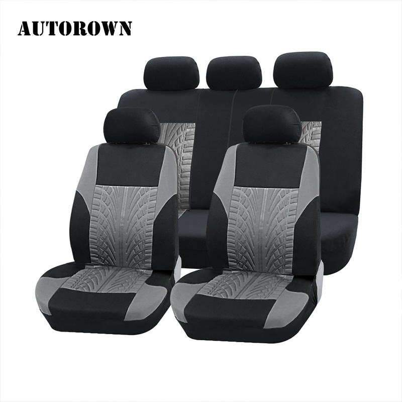 AUTOROWN Universal Car Seat Covers For Hyundai Toyota Mitsubishi Kia Polyester Car Seat Cover Car Styling Car Seat Protector chair