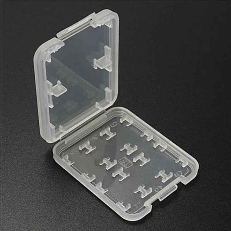 Double couche dur Micro HC TF MS carte mémoire boîte de rangement protecteur support étui rigide étui de style Simple