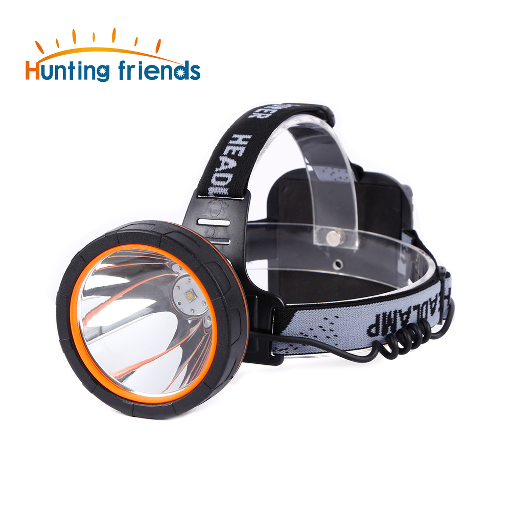 Hunting friends Separation Style LED Headlamp 18650 Rechargeable Headlight Waterproof Flashlight Forehead Coon Hunting Lights 12pcs lot hunting friends super bright led headlamp rechargeable flashlight forehead waterproof headlight head flashlight torch