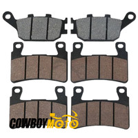 Motorcycle Front Rear Disc Brake Pads For HONDA CBR600RR 2003 2004 Disc Brake Pads Front Rear
