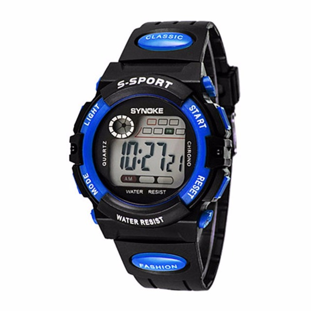 New Kids Water Resistance Watch Sports for Student Electronic Wrist Clock