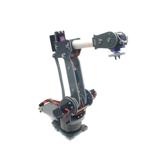 ABB 6DOF Industrial Robot Mechanical Arm Alloy Robotics Rack With Servos For Arduino Assembled