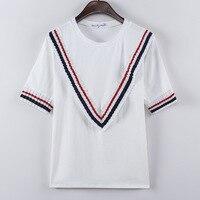Large Size Women Fat Mm2017 Summer Europe Women S T Shirt Short Sleeve T Shirt Coat