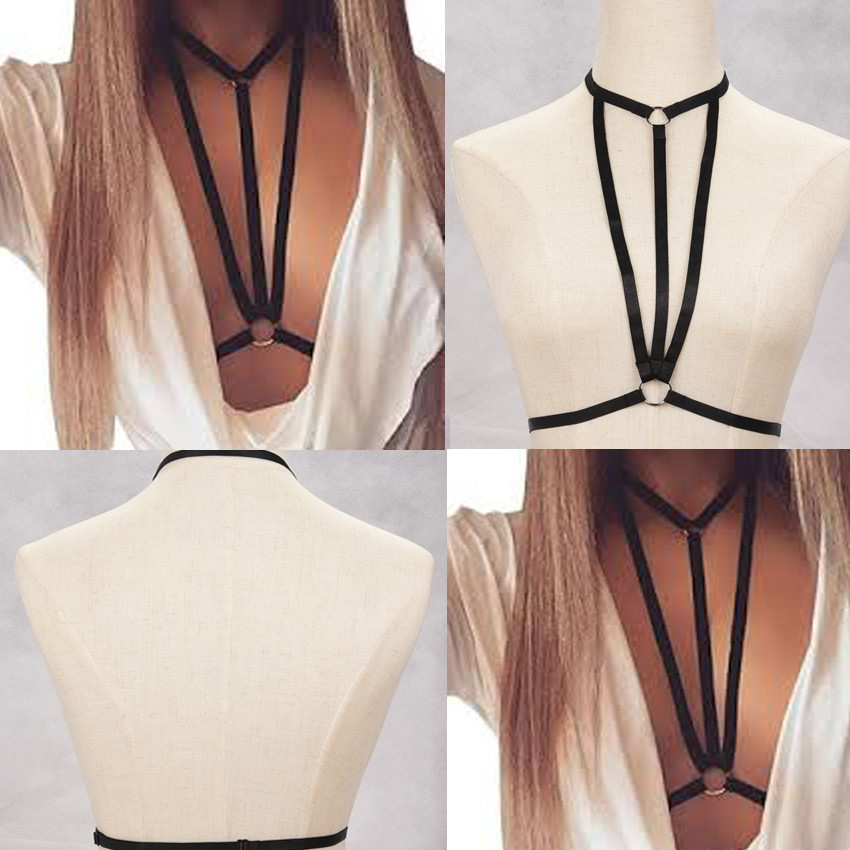HTB1koiZNVXXXXazapXXq6xXFXXXa Hot Ladies Gothic BDSM Bondage Fetish Wear Lingerie Body Harness Chest Accessory
