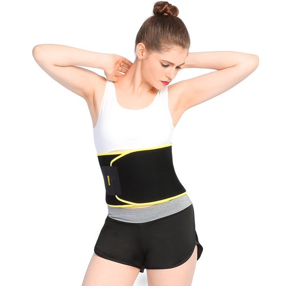 2547d0f3b9ba6 Yosoo Waist Trimmer Belt Weight Loss Exercise Yoga Sauna Belly Trimmer Body Shaper  Trainer Slim Anti Cellulite Fat Burner Corset-in Slimming Product from ...