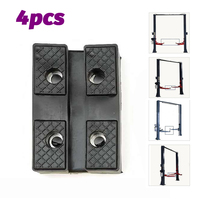 4 Pcs Rubber Car Lift Pad Heavy Duty Hold up to Sharp sub frames and Pinch Weld Points
