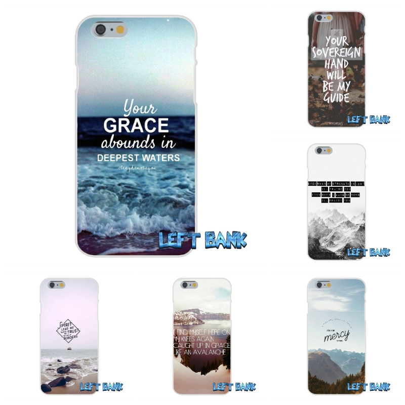 The Great Unknown Lyrics Hillsong United Jesus Soft Silicone TPU Transparent Cover Case For iPhone 4 4S 5 5S 5C SE 6 6S 7 Plus