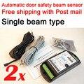 2 conjuntos transporte Livre com Correio aéreo Único tipo de feixe de segurança porta automática sensor de porta aberta microcell fotocélula sensorFG-218