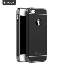 купить  Phone Case For iPhone 5S/SE, 3 In 1 Slim Matte PC Hard Cover Electroplate Frames Mobile Hybrid Case For iPhone 5S/SE по цене 428.56 рублей