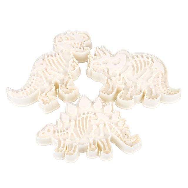 Dinosaur Shaped Cookie Cutters cool kitchen stuff