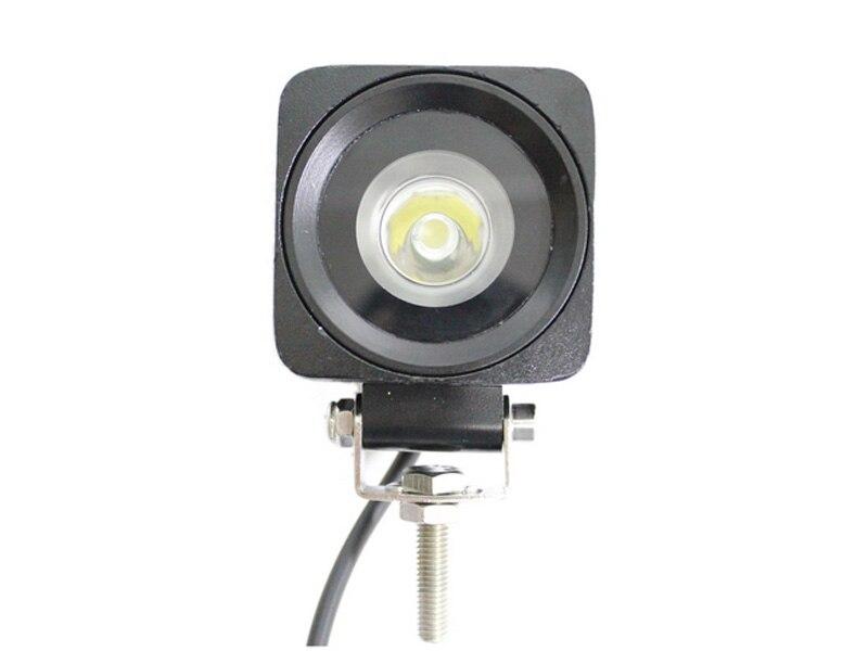ФОТО super bright  2.5inch composable Fog Driving Lamp Flood Spot lamp 10-30V 4x4 UTV Boat  truck offroad 10w squre led work light