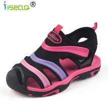 Children Kids Boys Girls Summer Sandals kids summer boys children sandals shoes cut-outs canvas girls
