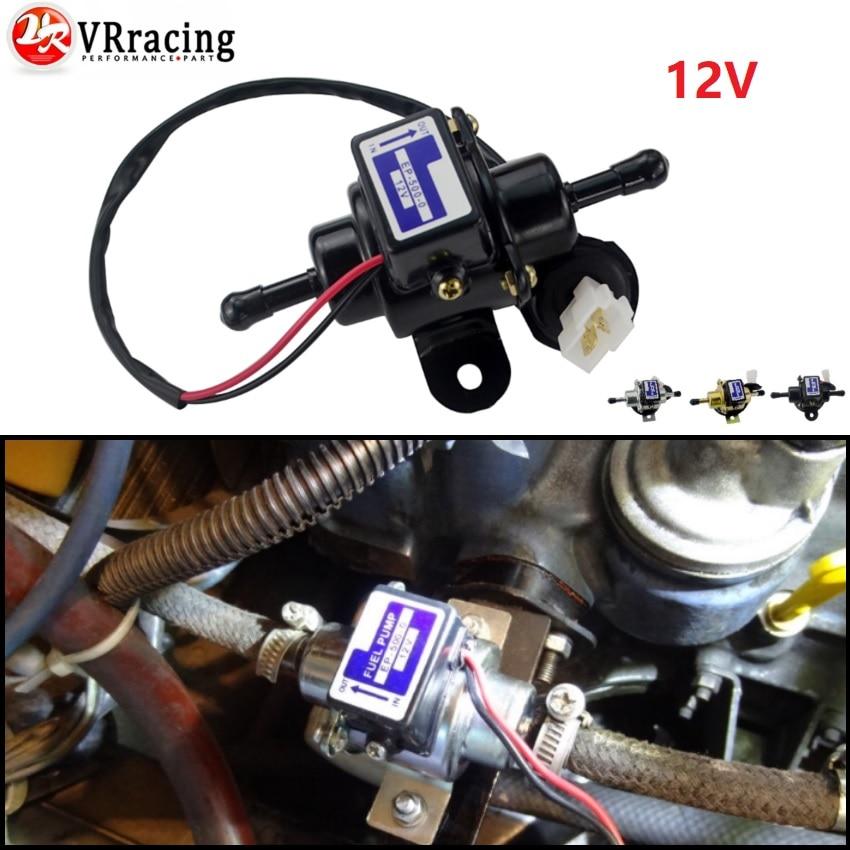12V Electric Fuel Pump EP-500-0 035000-0460 12585-52030 Diesel Gasoline Pertrol Case For Kubota Yanmar Cub Cadet Engine